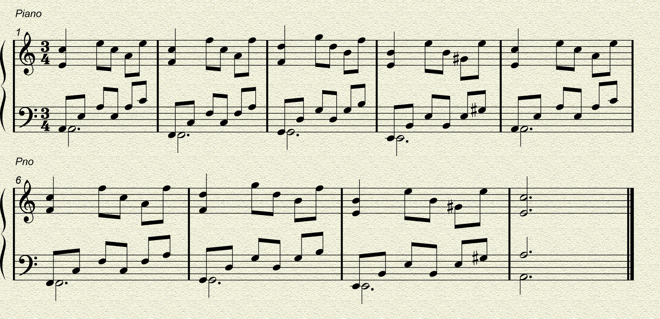 Piano melody over chords future producers forums note the use of the g in chord v this is in key because we use the harmonic minor scale to construct chords for minor keys hexwebz Gallery